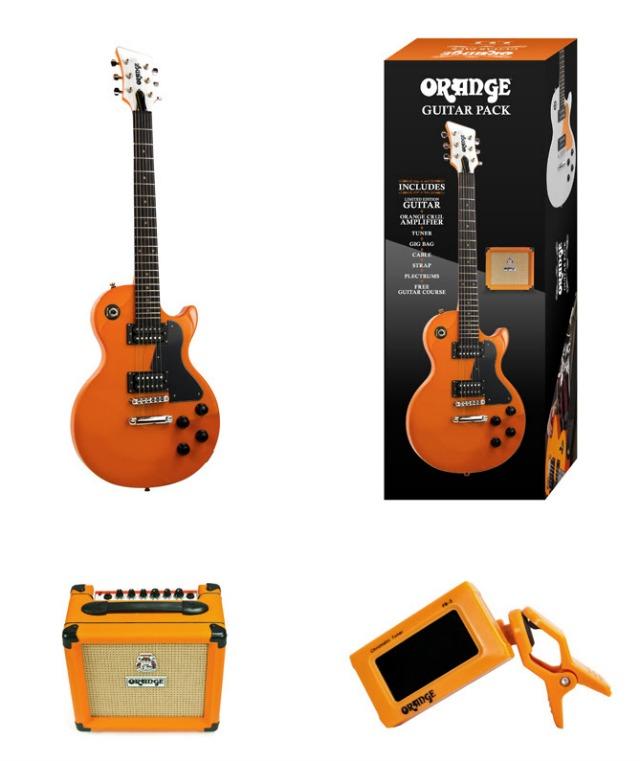 Orange Launch Complete Guitar Pack
