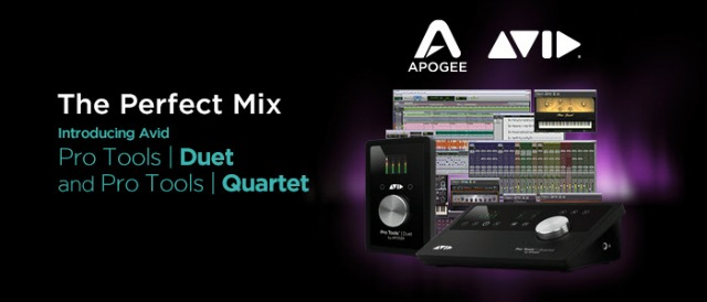 Avid Choose Apogee As I/O Connectivity Partner