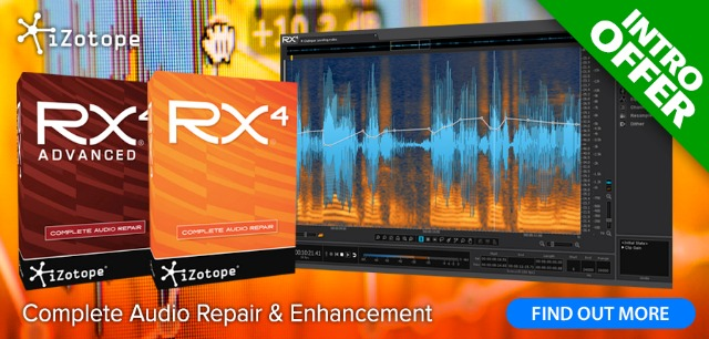 iZotope Drop RX4 For Even More Restoration