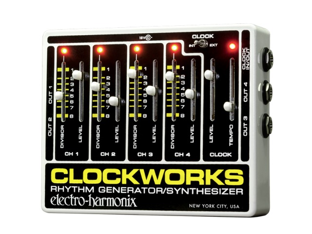 The Electro-Harmonix Clockworks Returns
