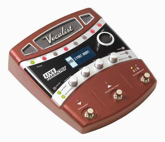Vocal Harmony Processor Stompbox Available