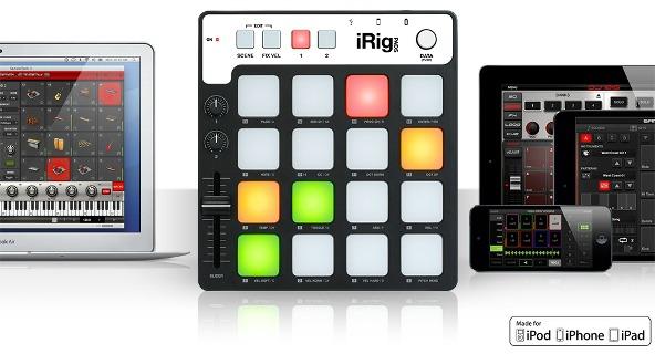 Portable MIDI Groove Controller