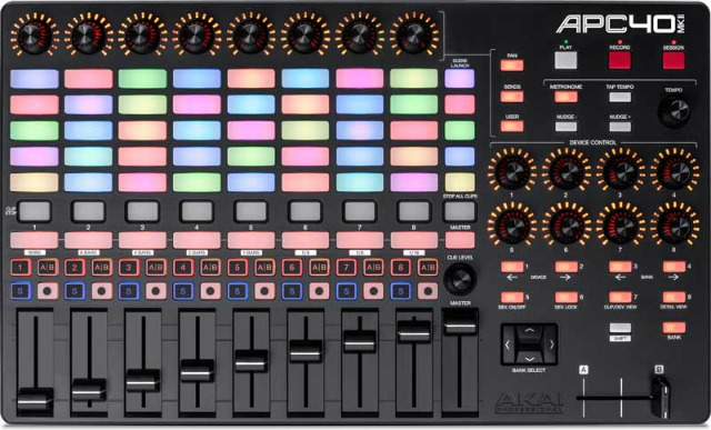 Akai Releases Ableton Live Controllers