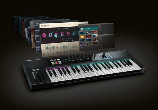 NI Releases KOMPLETE KONTROL S-Series Keyboards