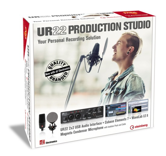 Steinberg Releases UR22 Production Studio