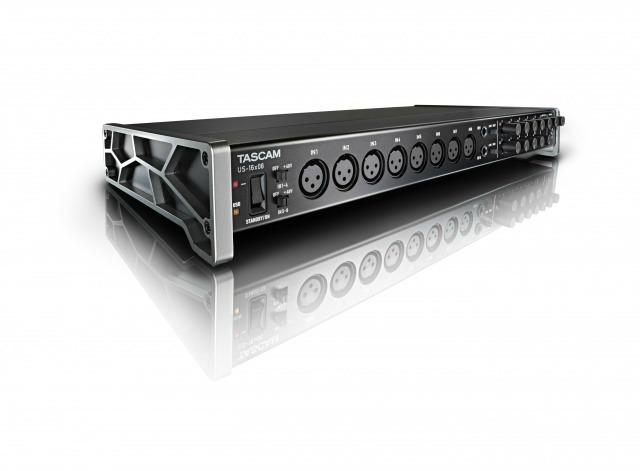 Multichannel Tascam Audio Interface