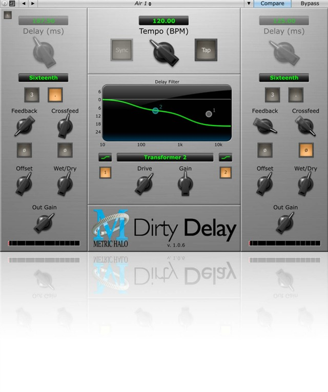 Metric Halo Releases Dirty Delay Plug-In