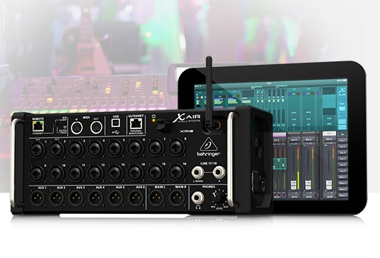 behringer announces wirelessly controlled mixers. Black Bedroom Furniture Sets. Home Design Ideas
