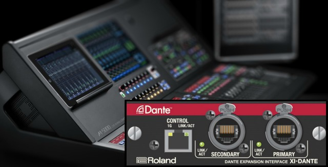 Roland Partners With Audinate