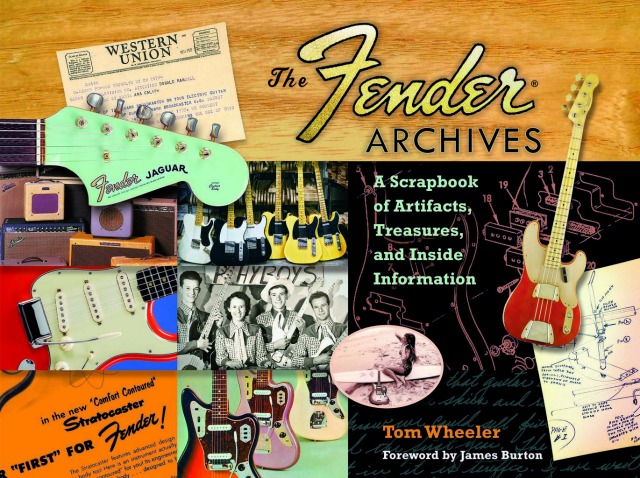 Hal Leonard Publishes The Fender Archives