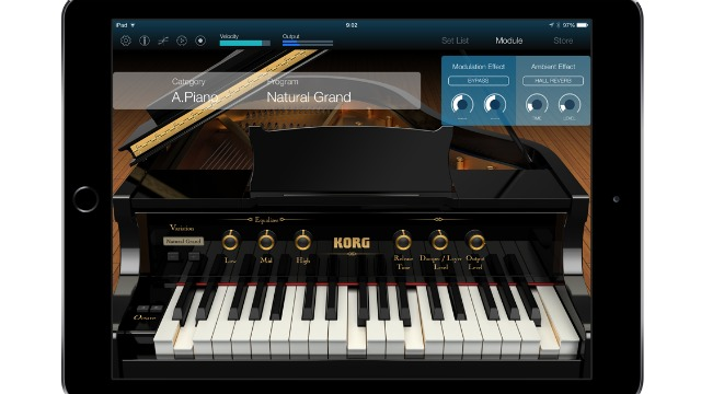 Korg Module For iPad - Up To 72 Voices