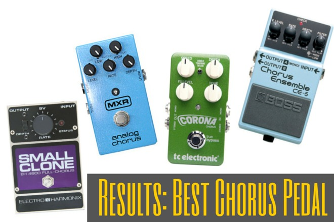 Best Chorus Pedal Results: The Top Five - According To You