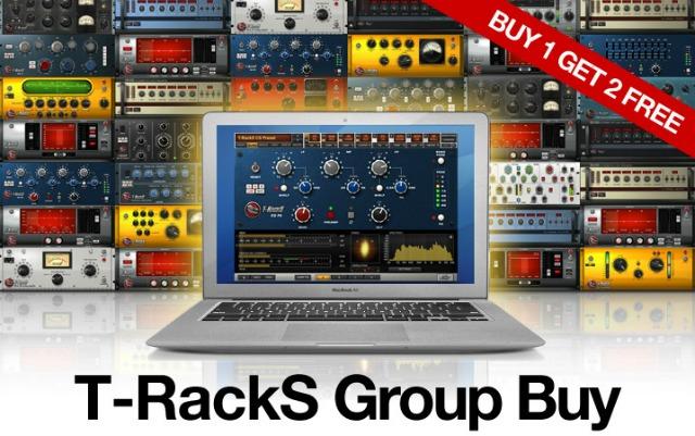 T-RackS Group Buy Now 3-for-1