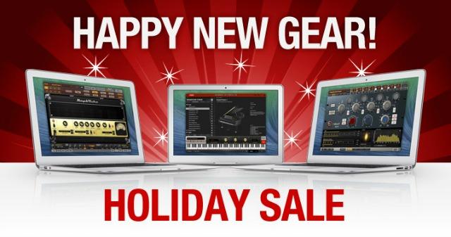 IK Multimedia Launches Seasonal Sale