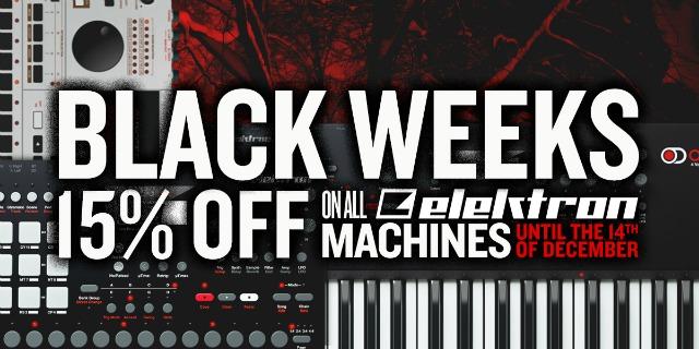 Elektron Announces The Black Weeks campaign