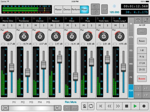 iPad Reason Controller App Updated