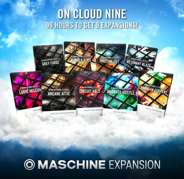 MASCHINE Expansions On Offer