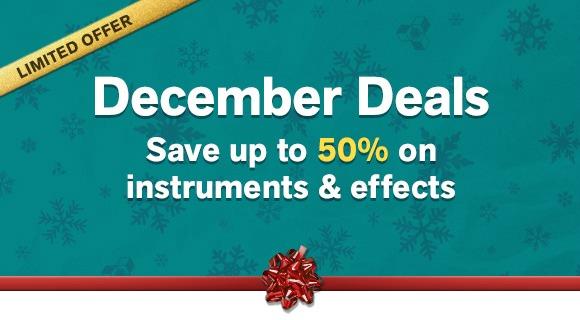 Propellerhead December Deals