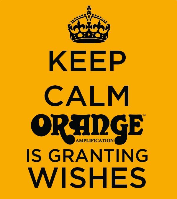 Wish For An Orange Amp...