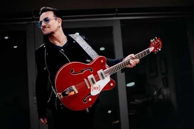 Gretsch And Bono Create New Signature Guitar