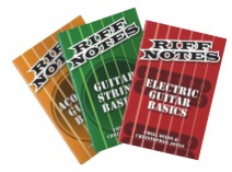 Hal Leonard Launches New Riff Notes Series