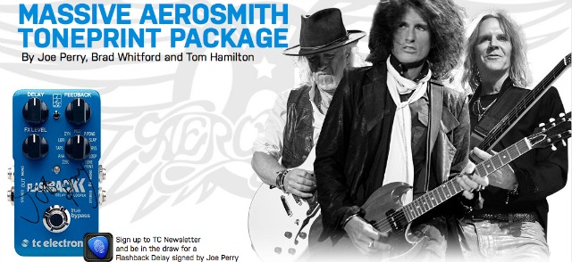 Win Aerosmith Stompbox