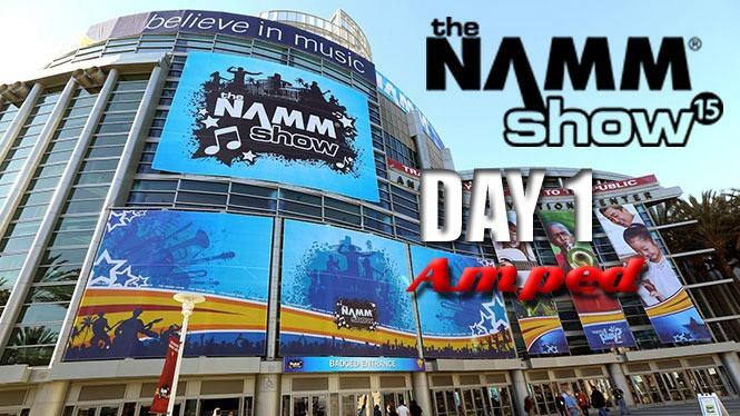 NAMM 2015: Live Blog Day 1 - Guitars