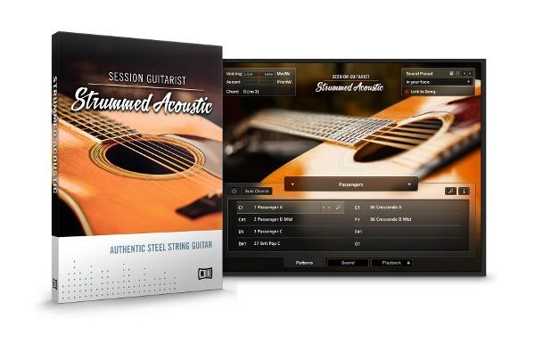 Strummed Acoustic Guitar For Kontakt