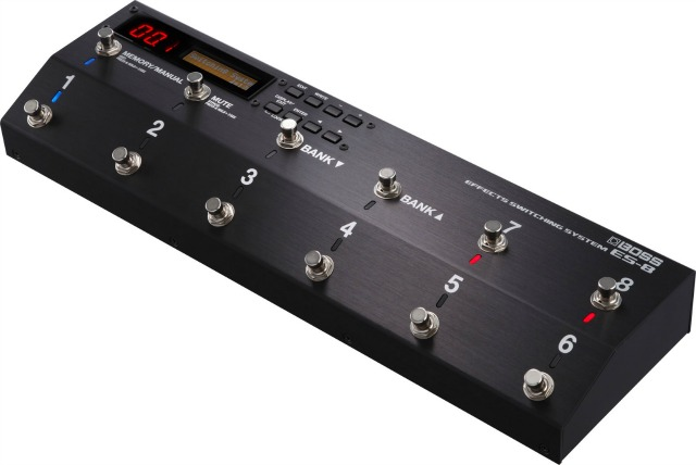 NAMM 2015: Boss Effects Switching System