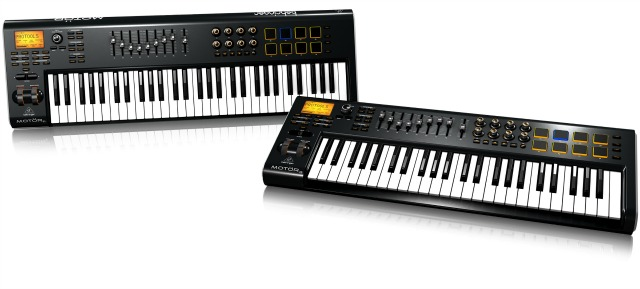Namm 2015 Midi Keyboard Controllers With Motorized Faders