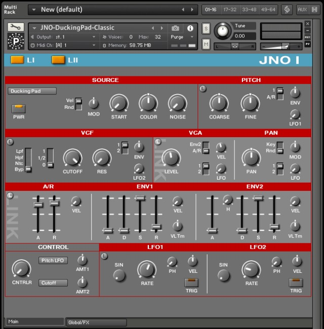 ARP Synth Sounds For Kontakt