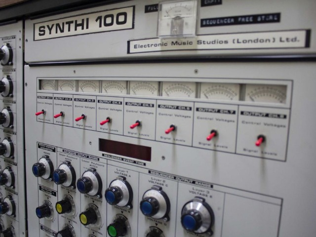 Rare EMS Synthi 100 Restored