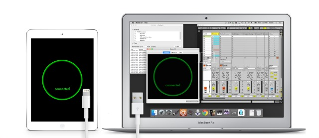 Mac And iOS MIDI Transfer Over USB