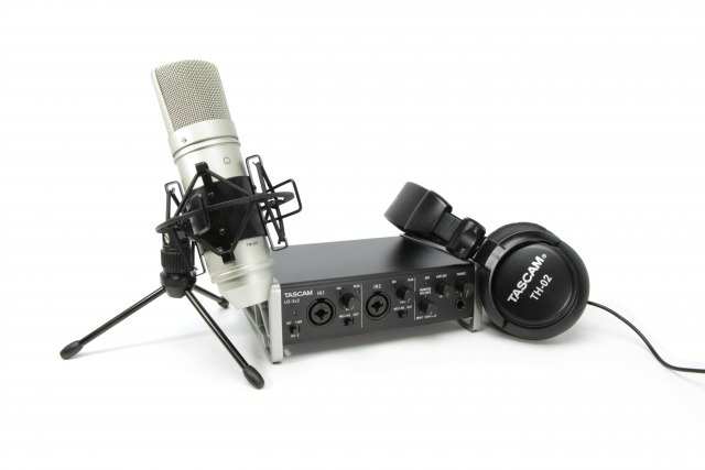 Tascam Introduces Recording Package