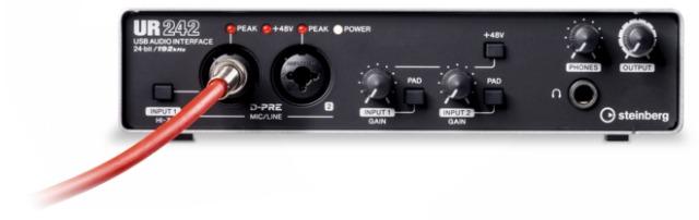 Steinberg's New Hi Res USB Audio Interface UR242