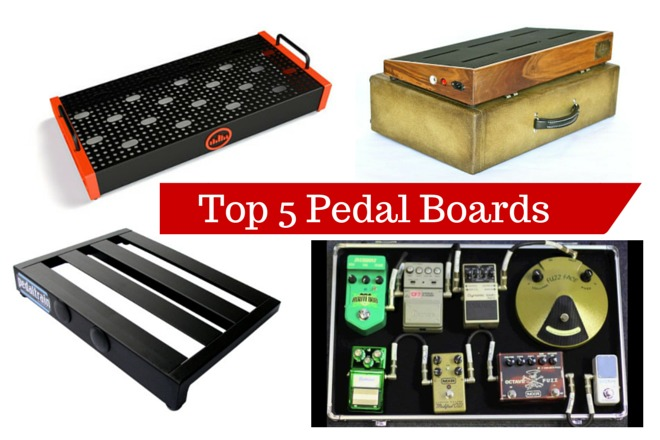 Top Five Pedal Board Options For Guitarists