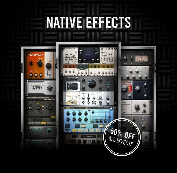 Native Instruments Half-Price FX Sale