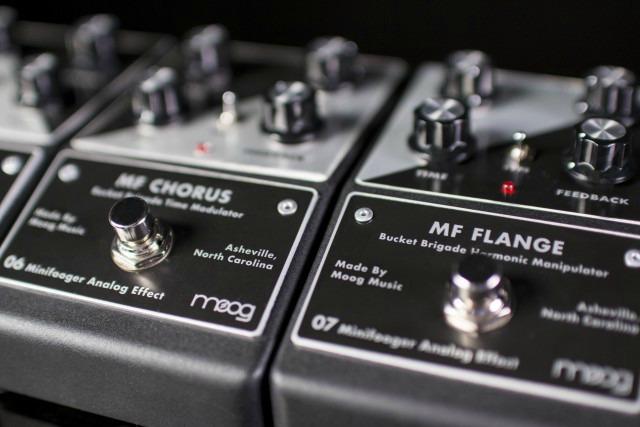 Moog Introduces New Minifooger Pedals