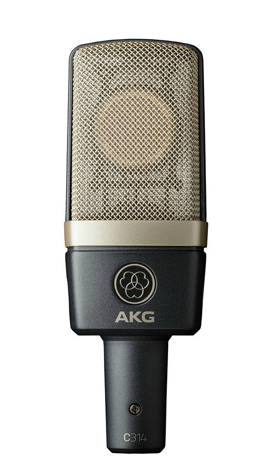 MESSE 2015: New AKG Studio MIcrophone