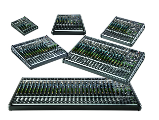MESSE 2015: Mackie Redesigns And Expands ProFX Mixer Series