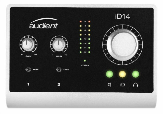 MESSE 2015: New Audient Mic Pre/Audio Interfaces