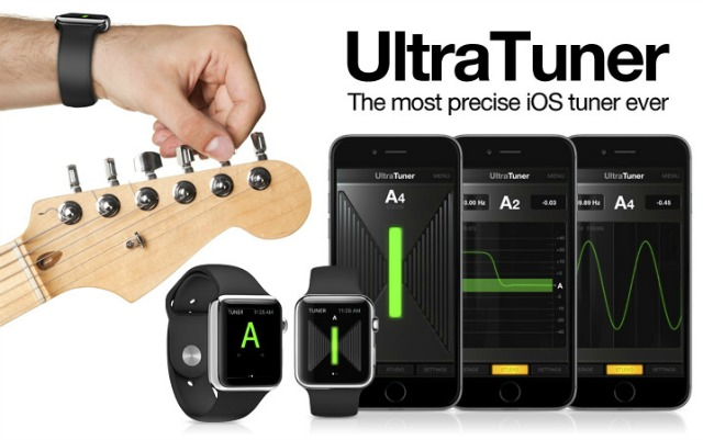 A Guitar Tuner In Your Watch