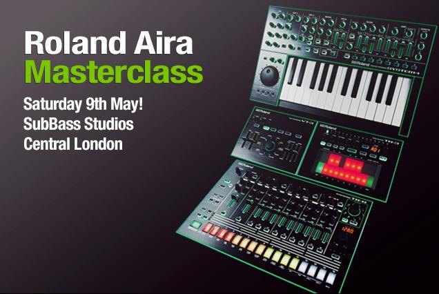 Free Roland AIRA Masterclass In London