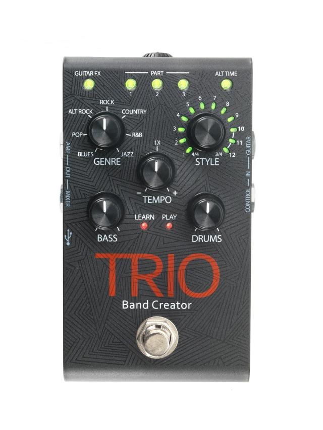 Digitech TRIO Band Creator Pedal Ships
