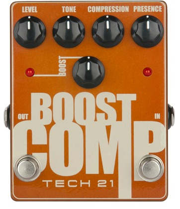 Player-Friendly Compression/Boost Pedal