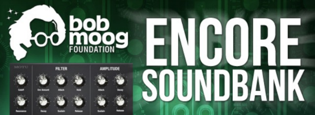 The Bob Moog Foundation Encore Soundbank