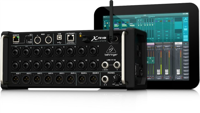 behringer digital mixer android control update