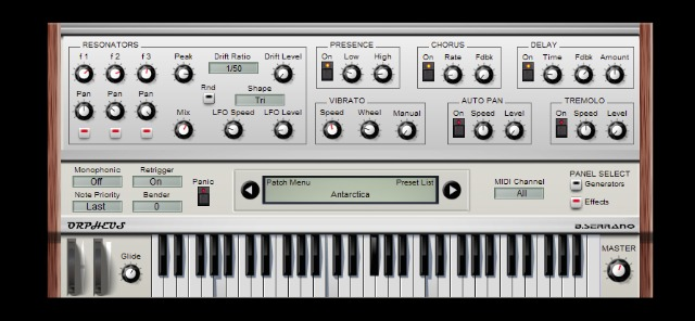 Free Strings & Organ Synth For Windows