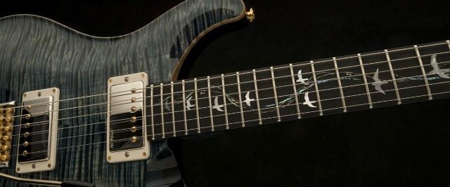 PRS 30th Anniversary Guitars Feature New Inlay