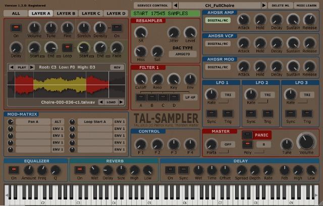 Togu Audio Line Releases TAL-Sampler